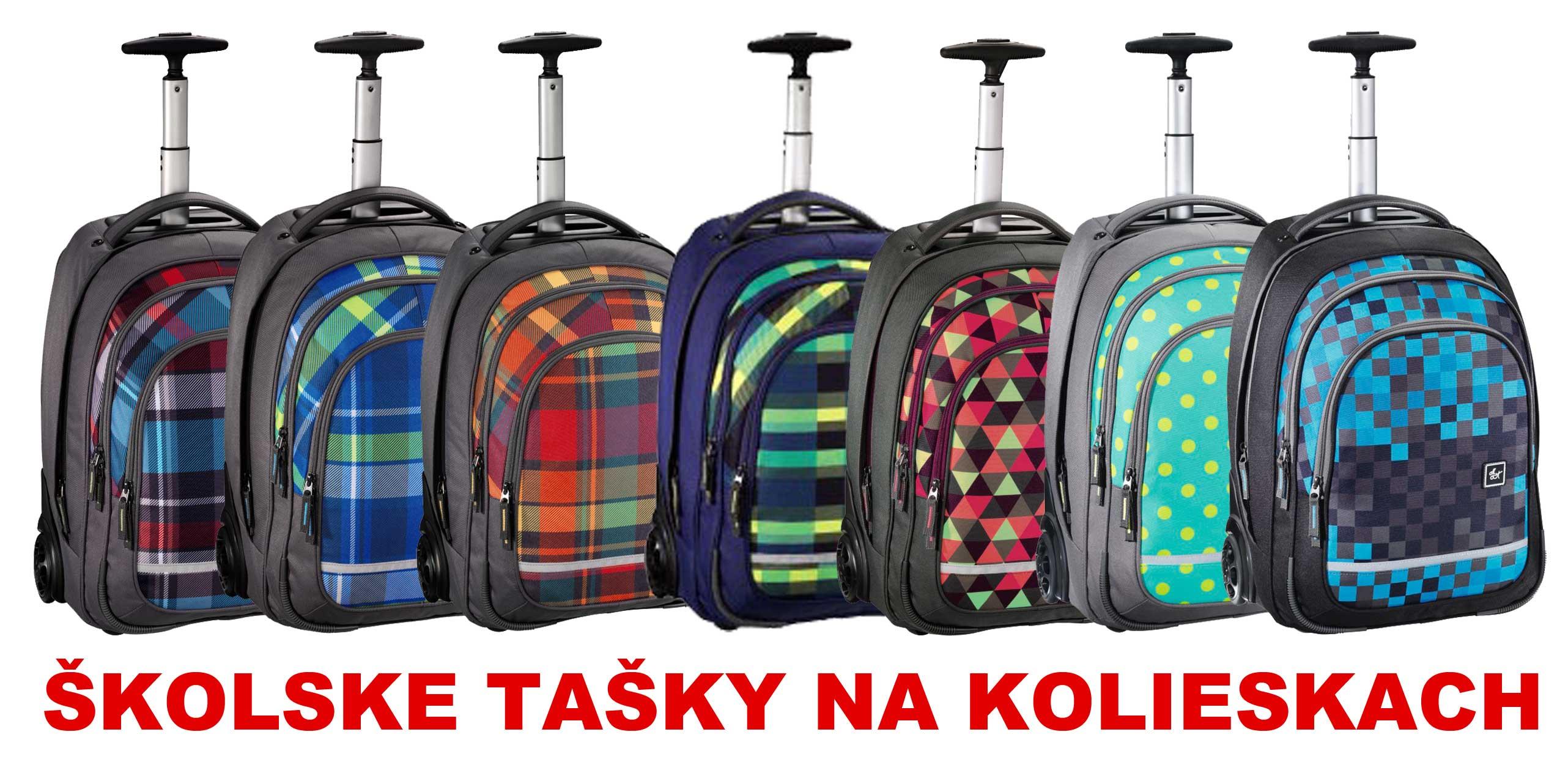 96563737fa2e3 Školské tašky na kolieskach pre dievčatá aj chlapcov